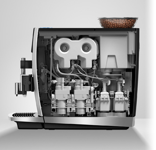 Piest en Jura: Koffiegenot - vers gemalen, niet uit capsules