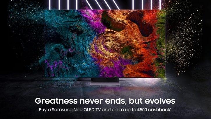 Cashbackactie Samsung Neo QLED