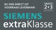 Siemens ExtraKlasse - Nu 2+3 jaar garantie!