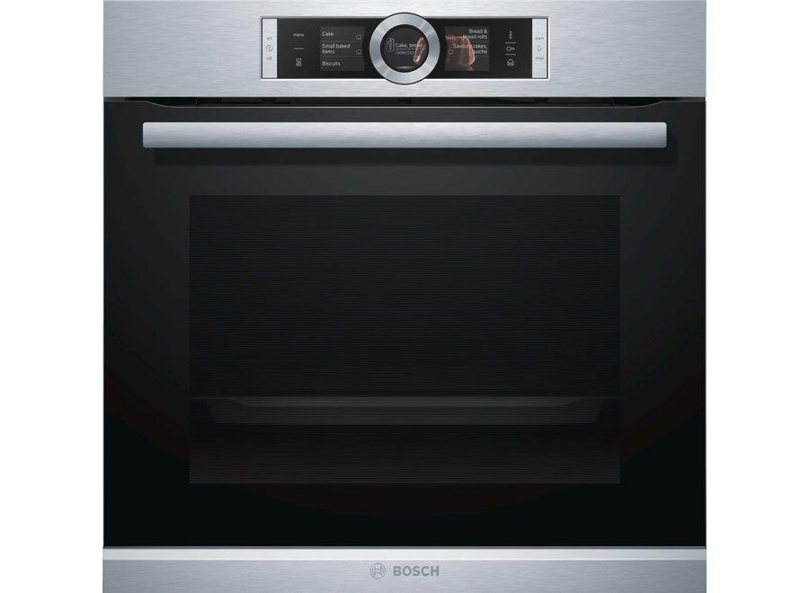 Bosch HSG636BS1 AddedSteam Inbouw oven met stoom 60cm