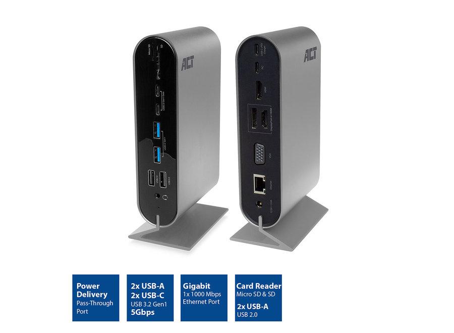 ACT AC7045 MST 4K USB-C Docking adapter