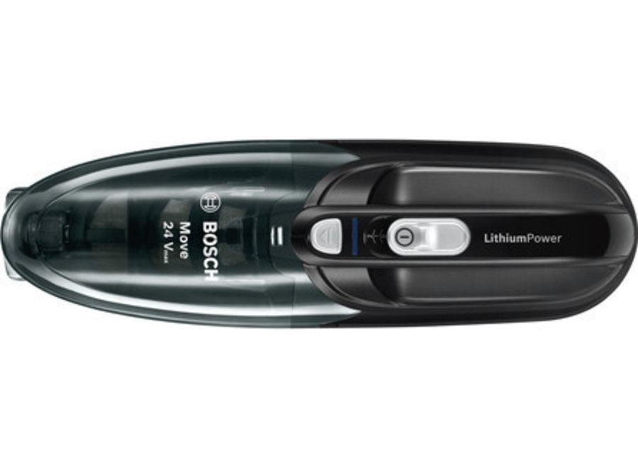 Bosch BHN24L Move Lithium 24Vmax Zwart Kruimelzuiger