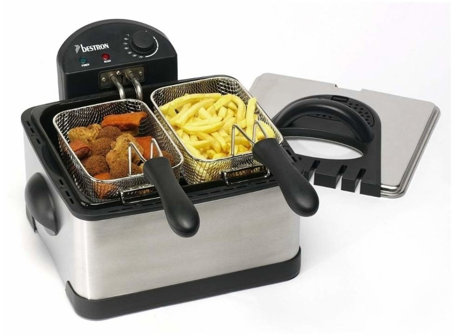 Bestron DF402B Family Friteuse Cool Zone