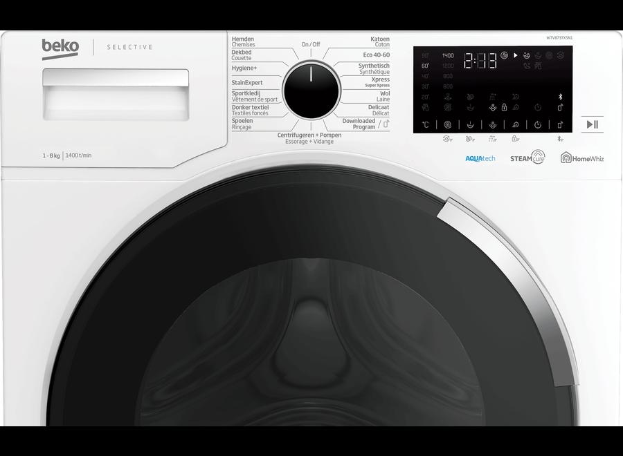 Beko WTV8737XSN1 HomeWhiz Wasmachine
