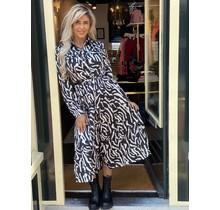 Zebra Dress Long