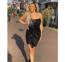 Sequins Dress Black