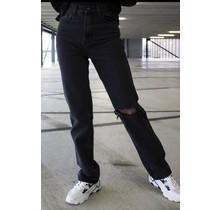 Luse Straight Jeans Black