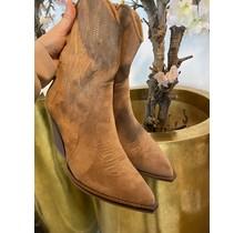 Suede Bella Boots Brown
