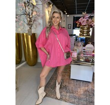 After Party Blouse Pink
