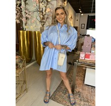 After Party Blouse Blue