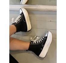 All The Stars Platform Sneakers Black
