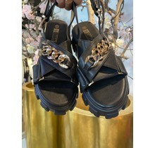 Chunky Sandals Black