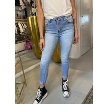 Washed High Waist Skinny Jeans 6921