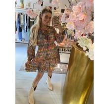 Jacquerd Flower Dress