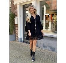 Shell Dress Black