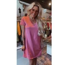 T-Shirt Dress V Blush