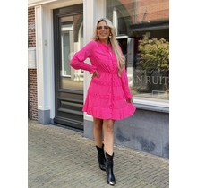 Go With The Flow Dress Pink