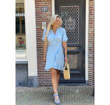 Hot Like Summer  Dress Light Blue