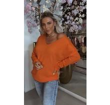 Basic Soft Sweater Orange