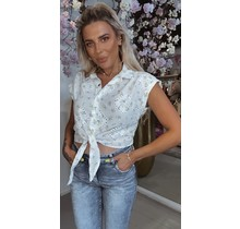Fifi Floral Knotted Blouse