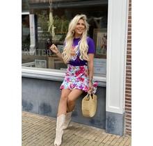 Good Vibes Flower Skirt