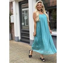 Good News Silk Dress Mint