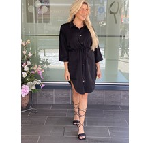 On Fire Dress Black