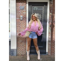 Hot Like Summer Blouse  Candy Pink