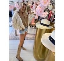 Freya Knitted Vest Creme
