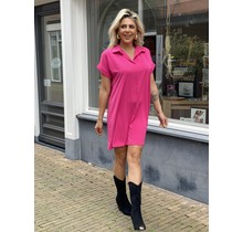 Sunny Afternoon Dress Black Pink