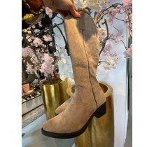 Suede Boots Khaki