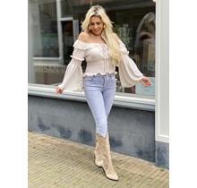 HelloMiss Light Grey Jeans 6162