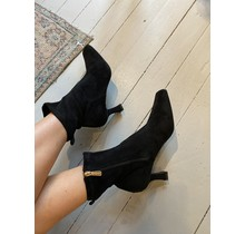 Suede Low Top Boots