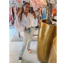 Hot Like Summer Blouse White