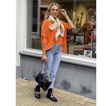 Classy Girl  Sweater Orange