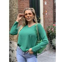 Classy Girl  Sweater Green