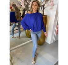 Butterfly Sweater Blue
