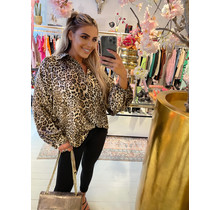 Touch Of Leopard Blouse