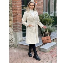 Flawless Chic Coat Creme