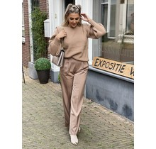 Padded Soft Sweater Camel