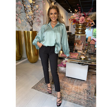 Simply The Best Satin Blouse Mint