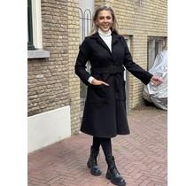 Flawless Chic Coat Black