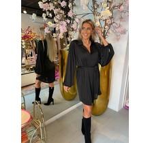 Shimmer Dress Black