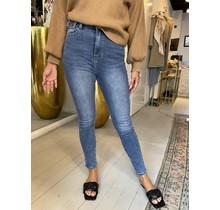 High Waist Blue Jeans 008-2