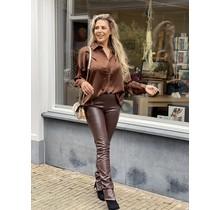 Leather Legging Brown