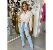 All Good Blouse Beige