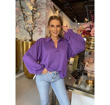 Let it Glow Blouse Purple