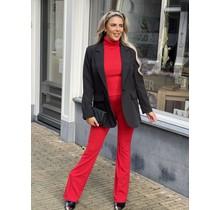 Merry Pantalon Rouge Red