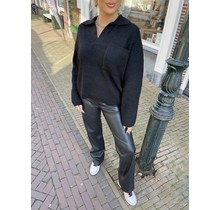 Norah Knitted Sweater Black