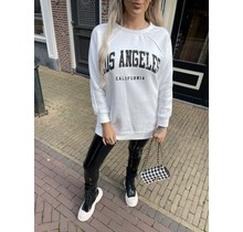 Los Angeles Sweater White